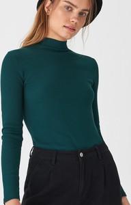 Zielona bluzka House w stylu casual