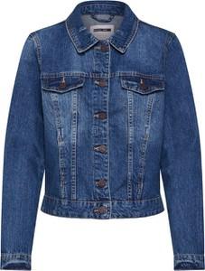 Niebieska kurtka Noisy May z jeansu krótka