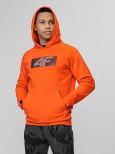 Pomarańczowa bluza 4F
