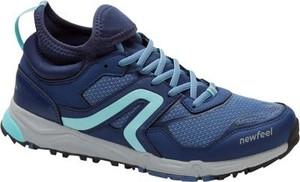Buty sportowe Newfeel na koturnie flex sznurowane