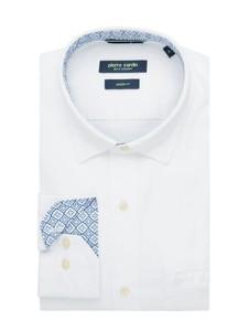 Koszula Pierre Cardin z kołnierzykiem button down z bawełny