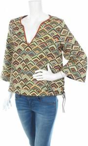 Bluzka Ba&Sh z dekoltem w kształcie litery v z długim rękawem