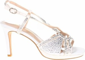 Srebrne sandały Alma en Pena