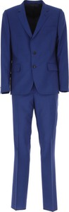 Niebieski garnitur Paul Smith z moheru