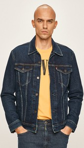 Kurtka Levis z jeansu w młodzieżowym stylu