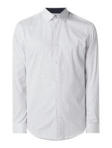 Koszula Selected Homme z bawełny z klasycznym kołnierzykiem z długim rękawem