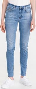 Niebieskie jeansy Liu-Jo z bawełny