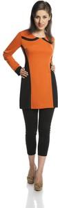 Pomarańczowa tunika Fokus z tkaniny