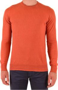 Pomarańczowy sweter Drumohr