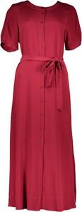 Sukienka Riani z jedwabiu maxi