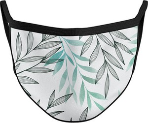 Vision Wear Sport Maska na twarz streetwear LIŚCIE