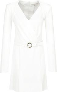 Sukienka Elisabetta Franchi kopertowa z długim rękawem