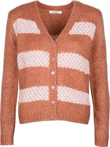 Pomarańczowy sweter liu-jo