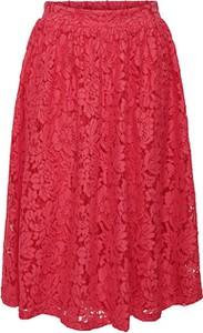 Różowa spódnica Only midi