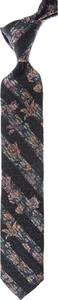 Krawat Christian Lacroix w stylu boho z jedwabiu