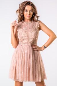 Sukienka Ptakmoda.com z tiulu bez rękawów