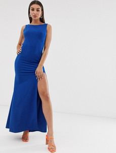 Niebieska sukienka Tfnc bez rękawów