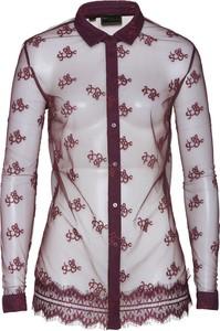 Bordowa koszula bonprix bpc selection premium