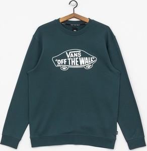 Zielona bluza Vans z bawełny