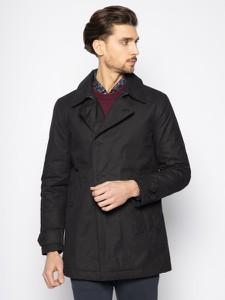 Granatowy płaszcz męski Tommy Hilfiger