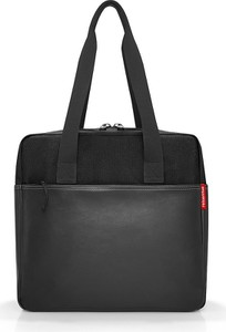 Czarna torebka Reisenthel duża w wakacyjnym stylu