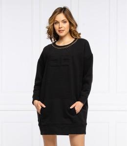 Sukienka Elisabetta Franchi prosta w stylu casual mini
