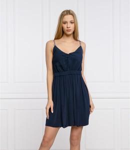 Sukienka Tommy Jeans z dekoltem w kształcie litery v