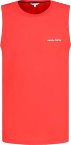 T-shirt Calvin Klein bez rękawów w sportowym stylu