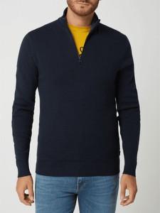 Sweter Esprit z bawełny ze stójką w stylu casual