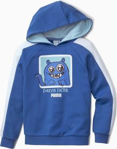 Bluza dziecięca Puma z dżerseju