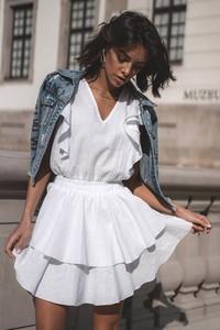 Sukienka Popatu z bawełny z długim rękawem