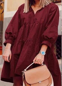Czerwona sukienka Cikelly mini