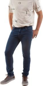 Niebieskie jeansy Lee z bawełny