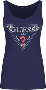Granatowy top Guess