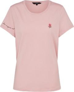 T-shirt vero moda w stylu casual z krótkim rękawem
