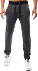 Czarne spodnie sportowe Dstreet