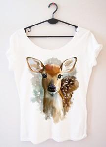T-shirt Time For Fashion z okrągłym dekoltem w młodzieżowym stylu