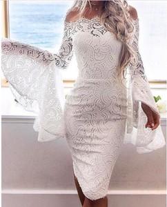 Elegrina sukienka imprezowa tinley biała