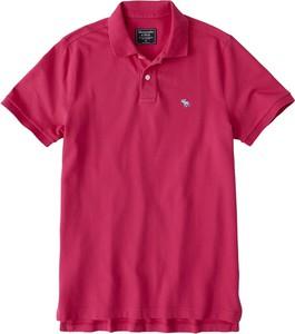 Koszulka polo Abercrombie & Fitch z bawełny