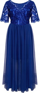 Granatowa sukienka Inna