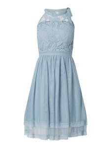 Sukienka Vila z dekoltem halter bez rękawów mini