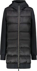 Czarny płaszcz Rrd z polaru w stylu casual