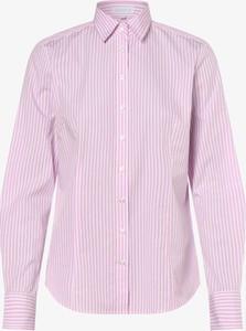 Różowa koszula brookshire z dekoltem w kształcie litery v