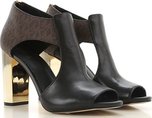 Czarne sandały Michael Kors