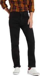 Czarne jeansy Wrangler z jeansu