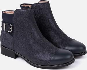 Buty dziecięce zimowe Mayoral z bawełny