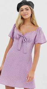 Sukienka Wednesday`s Girl z krótkim rękawem