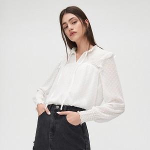 Bluzka Cropp z tkaniny