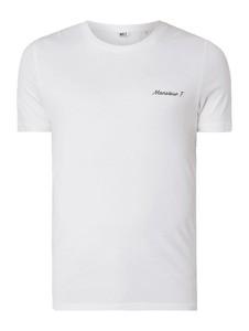 T-shirt Mr. F z krótkim rękawem z bawełny w stylu casual
