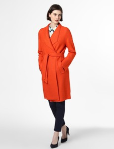 Pomarańczowy płaszcz S.Oliver